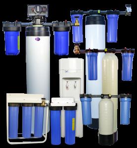 H2O USA wholehouse filters range