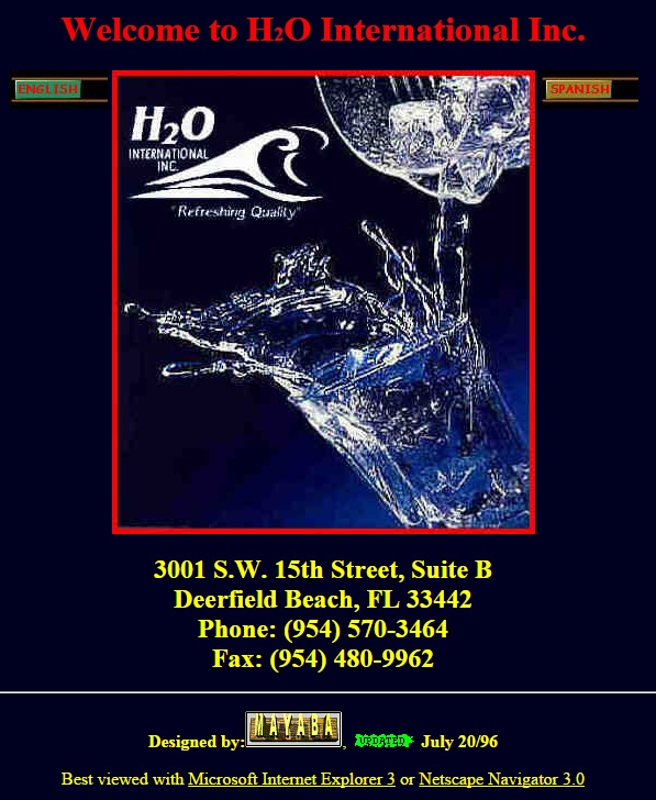 old h2o website 597x728